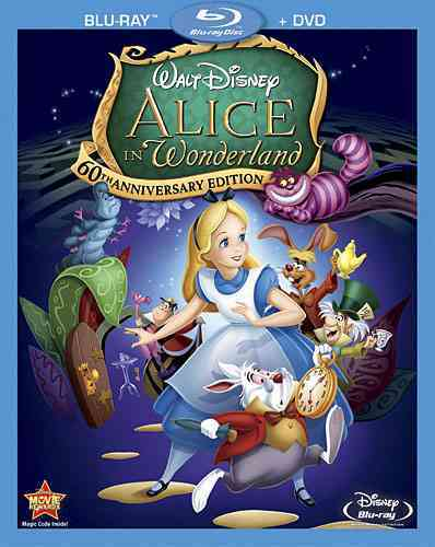 ALICE IN WONDERLAND 60TH ANN ED BY BEAUMONT,KATHRYN (Blu-Ray)